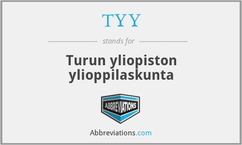 TYY - Turun yliopiston ylioppilaskunta