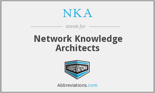 NKA - Network Knowledge Architects