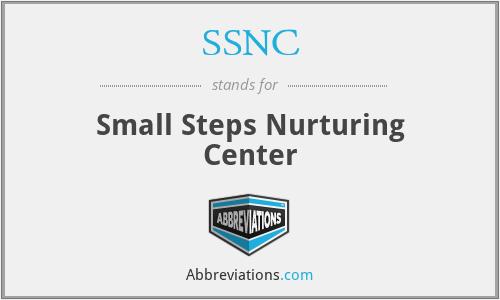 SSNC - Small Steps Nurturing Center