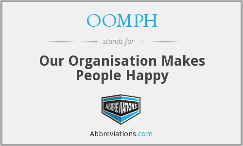 What does OOMPH stand for?