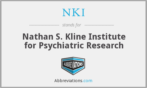 What does NKI stand for?