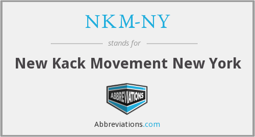 What does NKM-NY stand for?
