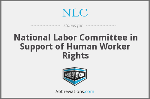 NLC - National Labor Committee in Support of Human Worker Rights