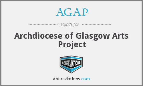 AGAP - Archdiocese of Glasgow Arts Project