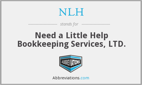 NLH - Need a Little Help Bookkeeping Services, Ltd.
