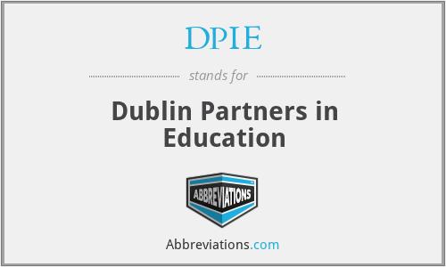 DPIE - Dublin Partners in Education
