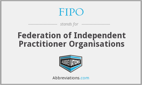 What does FIPO stand for?