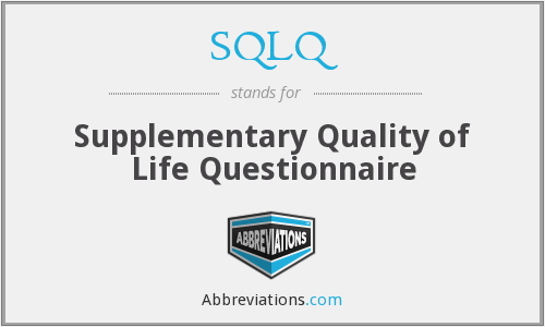 What does SQLQ stand for?