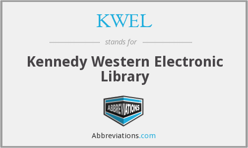 What does KWEL stand for?