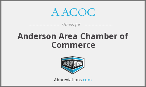 AACOC - Anderson Area Chamber of Commerce