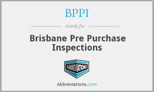 BPPI - Brisbane Pre Purchase Inspections