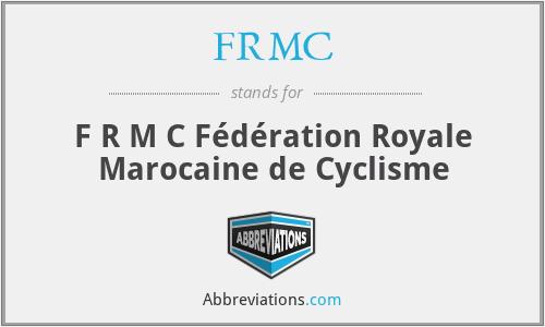 FRMC - F R M C Fédération Royale Marocaine de Cyclisme