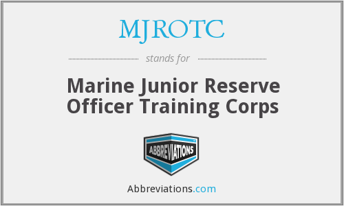 What does MJROTC stand for?