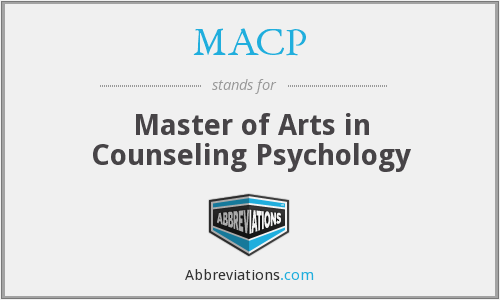 MACP - Master of Arts in Counseling Psychology