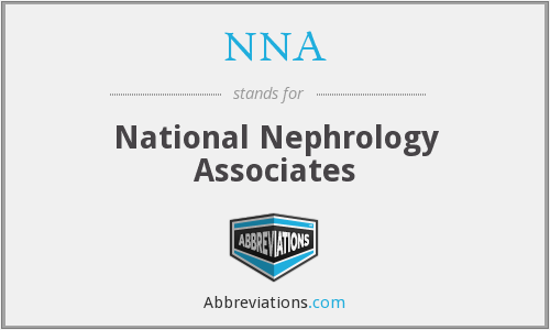 NNA - National Nephrology Associates