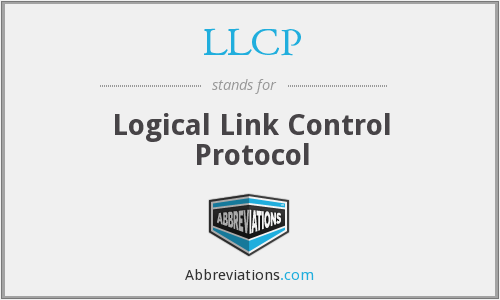 What does LLCP stand for?