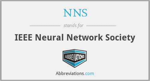 NNS - IEEE Neural Network Society
