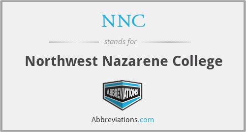 NNC - Northwest Nazarene College
