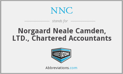 NNC - Norgaard Neale Camden Ltd., Chartered Accountants