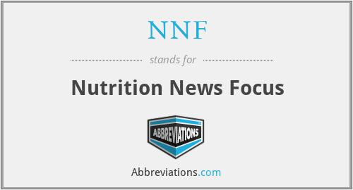 NNF - Nutrition News Focus