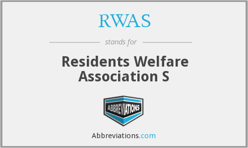 What does RWAS stand for?