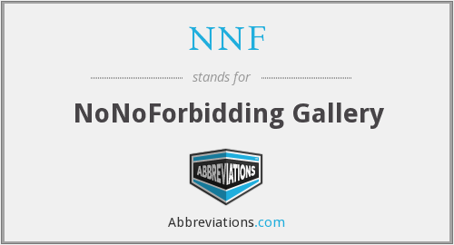 NNF - NoNoForbidding Gallery