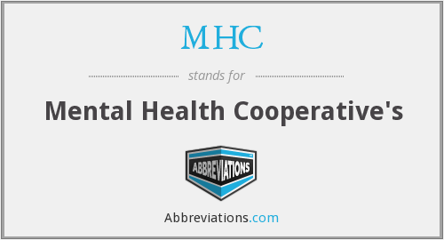 MHC - Mental Health Cooperative's