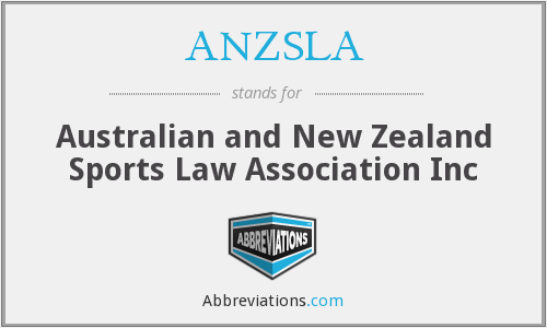 What does ANZSLA stand for?