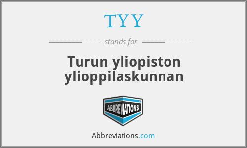 TYY - Turun yliopiston ylioppilaskunnan