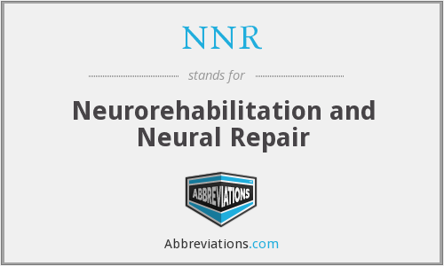What does NNR stand for?
