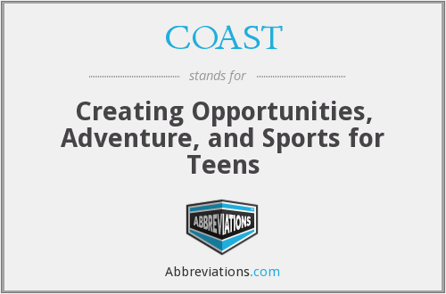 COAST - Creating Opportunities, Adventure, and Sports for Teens