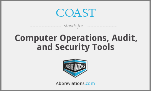 COAST - Computer Operations, Audit, and Security Tools