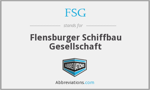 What does FSG stand for? — Page #2