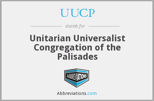 UUCP - Unitarian Universalist Congregation of the Palisades