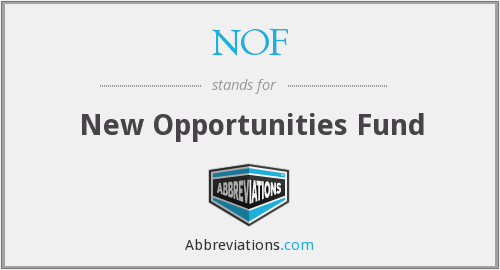 NOF - New Opportunities Fund