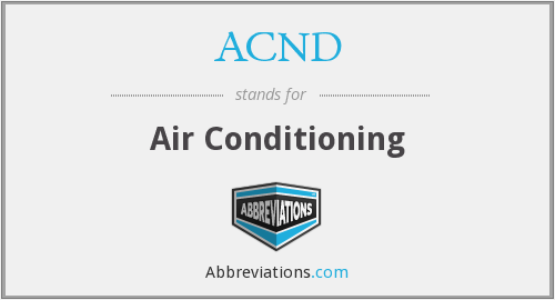 What does ACND stand for?