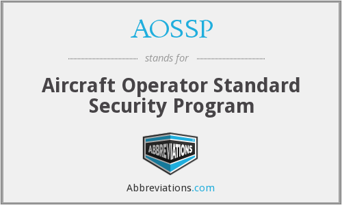 What does AOSSP stand for?