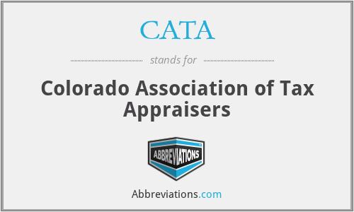 CATA - Colorado Association of Tax Appraisers