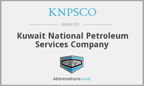 What does KNPSCO stand for?