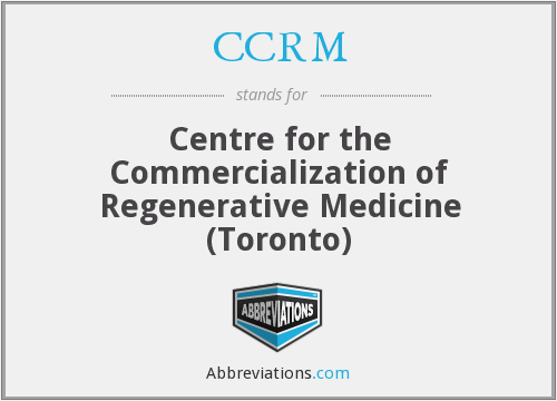 What does CCRM stand for?