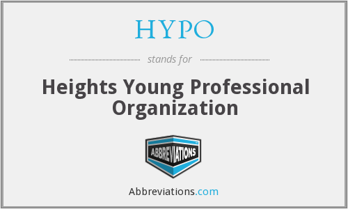 HYPO - Heights Young Professional Organization