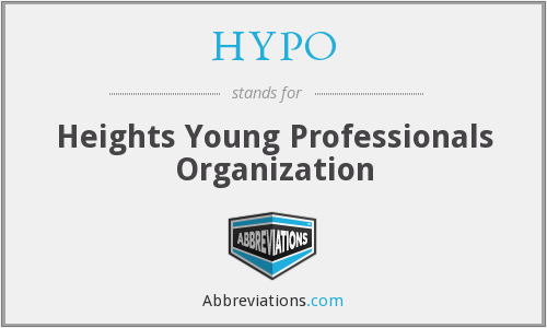 HYPO - Heights Young Professionals Organization