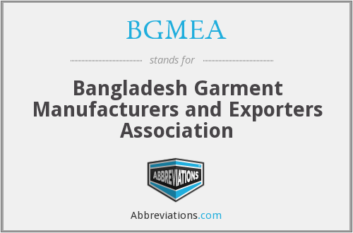 What does BGMEA stand for?