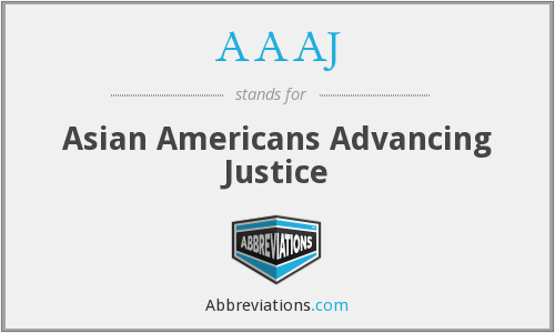 What does AAAJ stand for?
