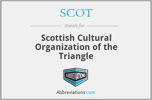 SCOT - Scottish Cultural Organization of the Triangle