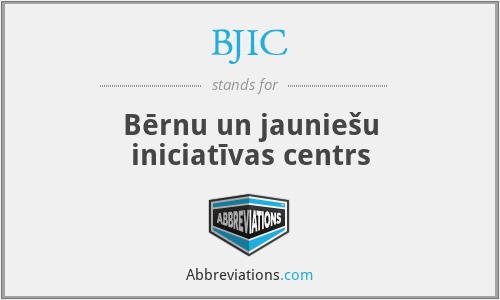 BJIC - Bērnu un jauniešu iniciatīvas centrs