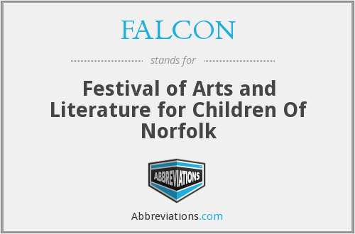 FALCON - Festival of Arts and Literature for Children Of Norfolk