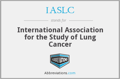 What does IASLC stand for?