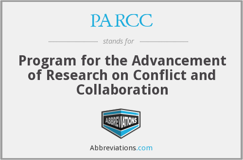 PARCC - Program for the Advancement of Research on Conflict and Collaboration