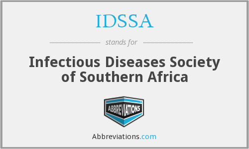 IDSSA - Infectious Diseases Society of Southern Africa